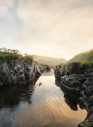 Clarence Valley gorge - North Coast