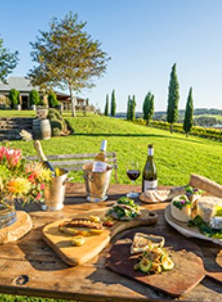 Wine and cheese at Cupitt Winery in Ulladulla,  Jervis Bay and Shoalhaven