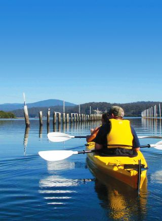 Region X Oyster Kayak Tour - Batemans Bay