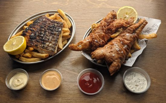 Fish & Chips from Saint Peter in Paddington
