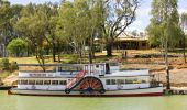 PS Melbourne Paddle Steamer - Trentham Estate - The Murray