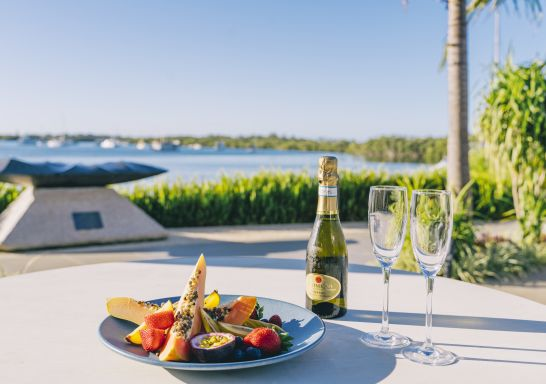Food and drink available from Sails Port Macquarie, Port Macquarie