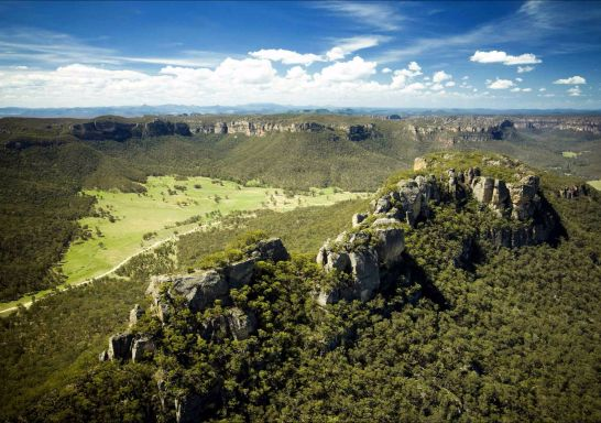 Baal Bone Gap in Lithgow, Blue Mountains