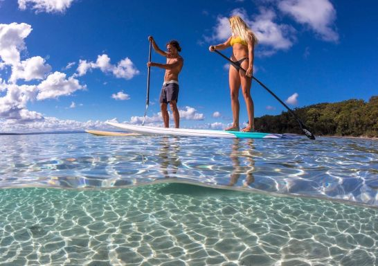 Stand Up Paddle in Sussex Inlet, Jervis Bay and Shoalhaven, South Coast