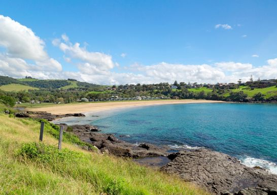 Easts Beach at Kiama, South Coast