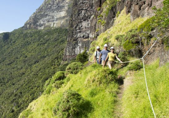 Hiking to Mount Gower on Lord Howe Island, Australia